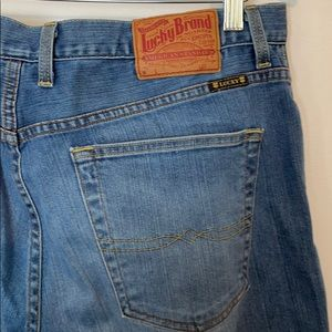 Lucky Straight Leg Medium Wash Jeans 36S